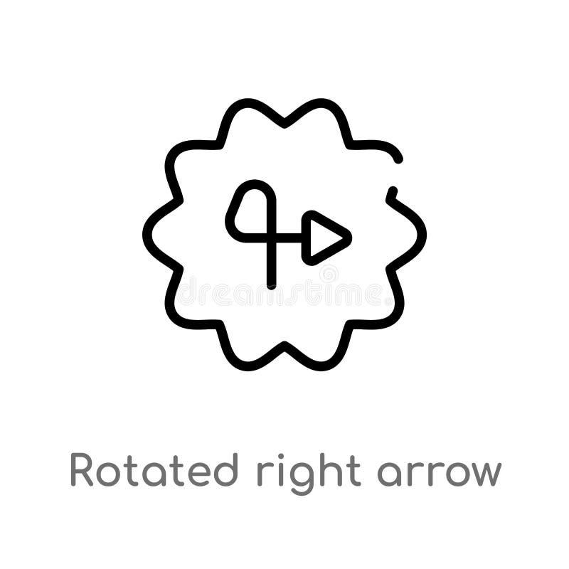 E l?nea simple negra aislada ejemplo del elemento de la interfaz de usuario libre illustration