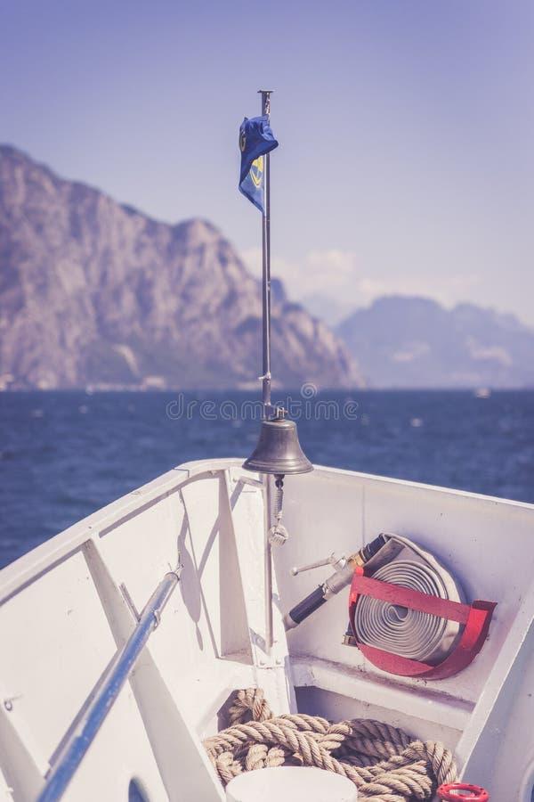 E Lago di Garda, Italien lizenzfreie stockfotografie