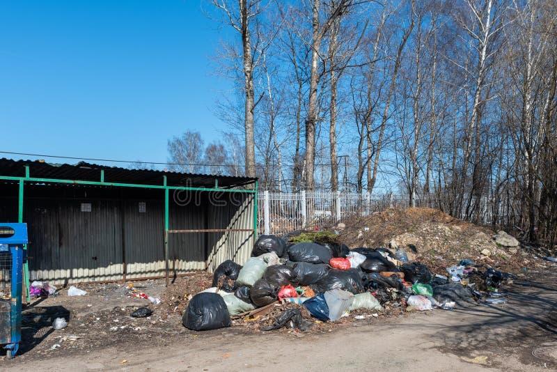 E landfill стоковое фото rf