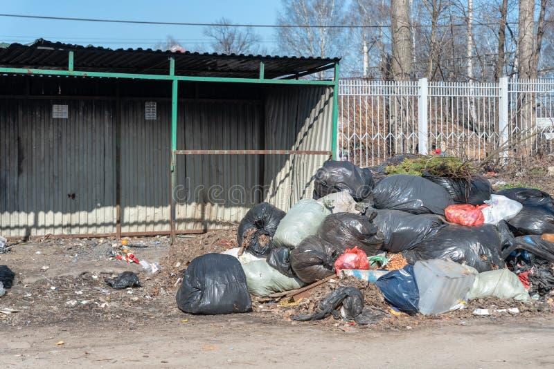 E landfill стоковое изображение