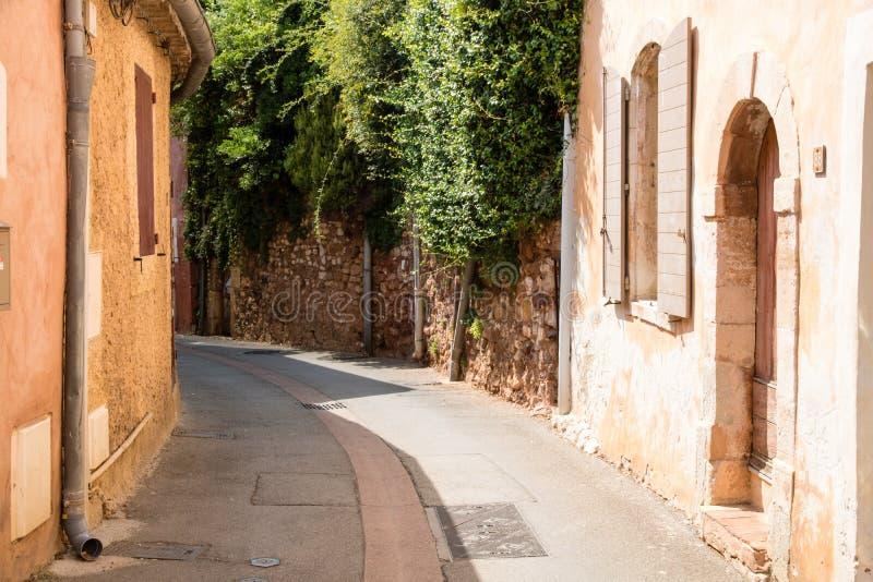 E Le Roussillon, France photos stock