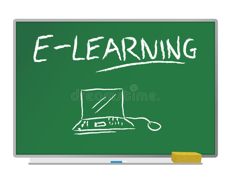 E-learbing illustration de vecteur