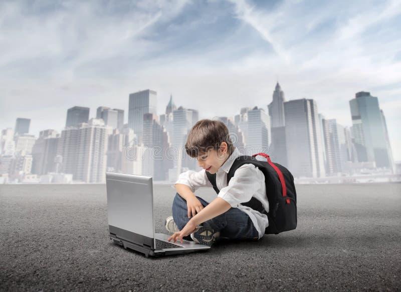 E-Learning lizenzfreie stockfotografie