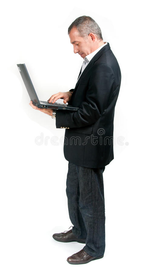 Download E-Learning stock image. Image of male, caucasian, handsome - 24068511