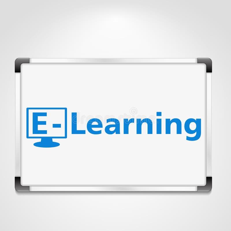 E-Learning vektor abbildung