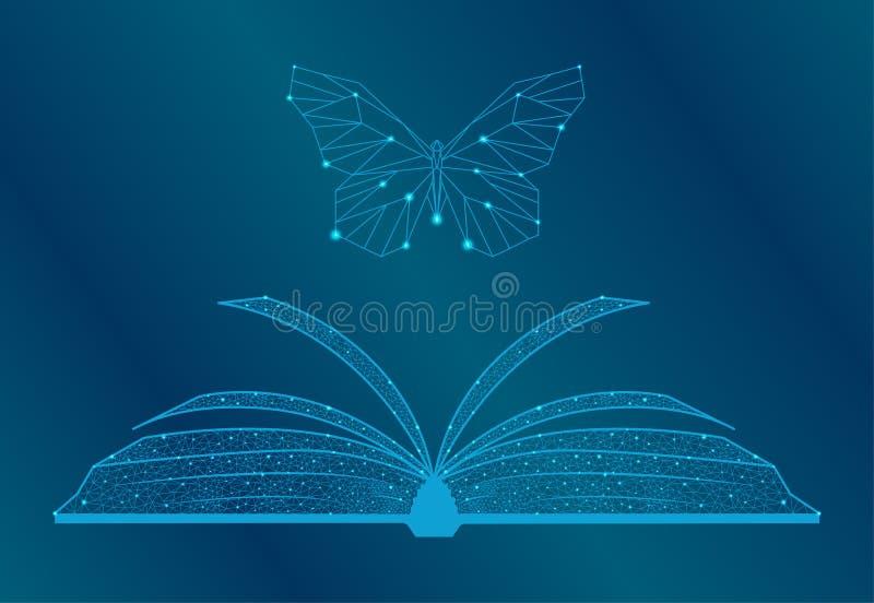 E-Learning, certificado de licenciado en medicina a distancia, concepto del programa de estudios de biología Bajo polo 3D Vector  libre illustration
