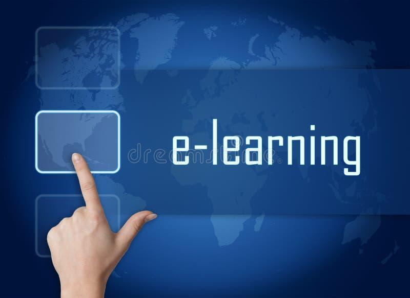 E-learning royalty free illustration