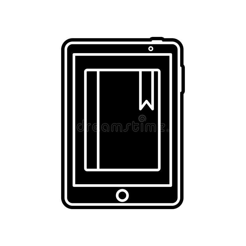 E-Learning-Ikone Element der Bildung f?r bewegliches Konzept und Netz apps Ikone Glyph, flache Ikone f?r Websiteentwurf und Entwi stock abbildung