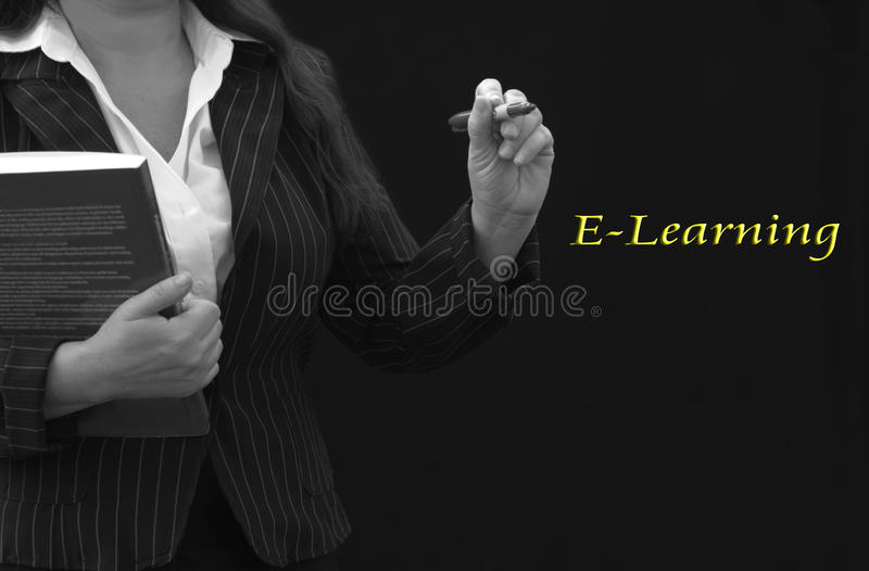 Download E-Learning Teacher Royalty Free Stock Photography - Image: 24759527