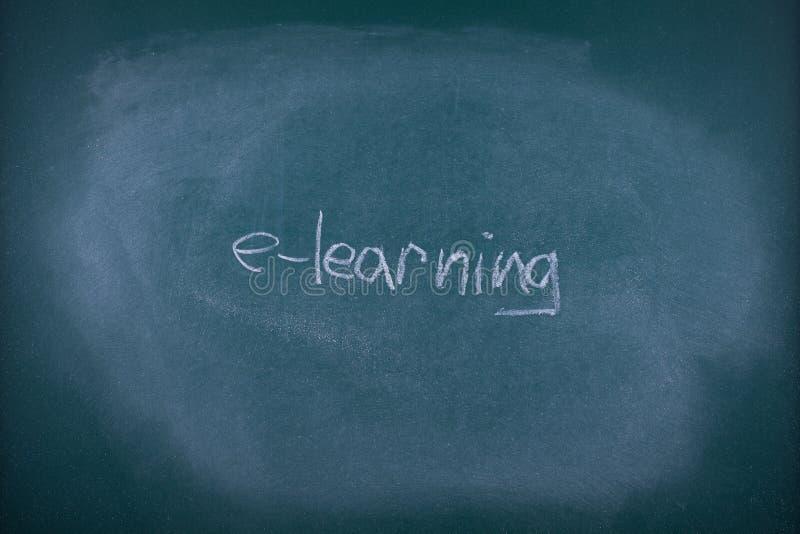 E-learningbegrepp arkivbild