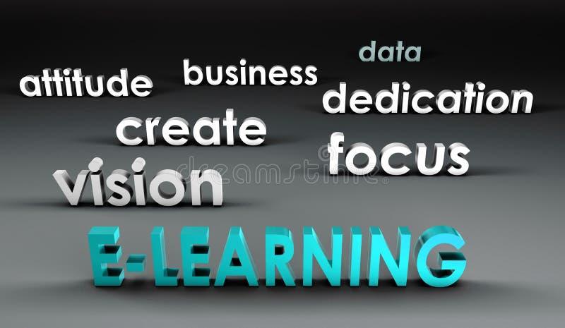 E-leert bij het Front vector illustratie