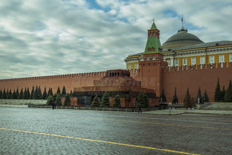 E 2019: Lenin mauzoleum na placu czerwonym w Moskwa zdjęcia stock