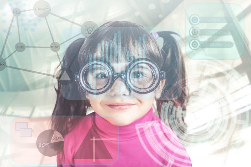 E-lerend Concept stock afbeelding
