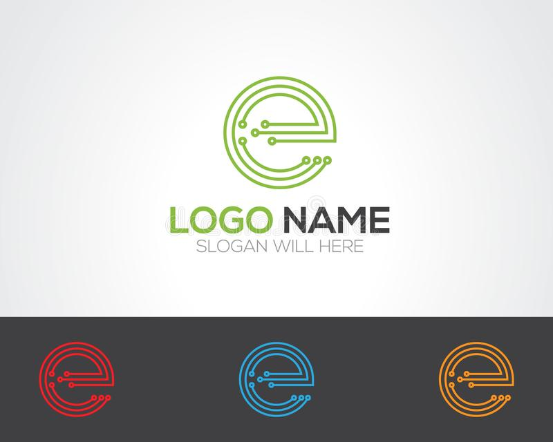 E Letter Logo Template online store vectors illustratio. N. This is very easy to use. U ca Use as your won simply vector illustration