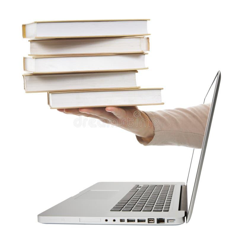 E-Libro. fotografia stock libera da diritti