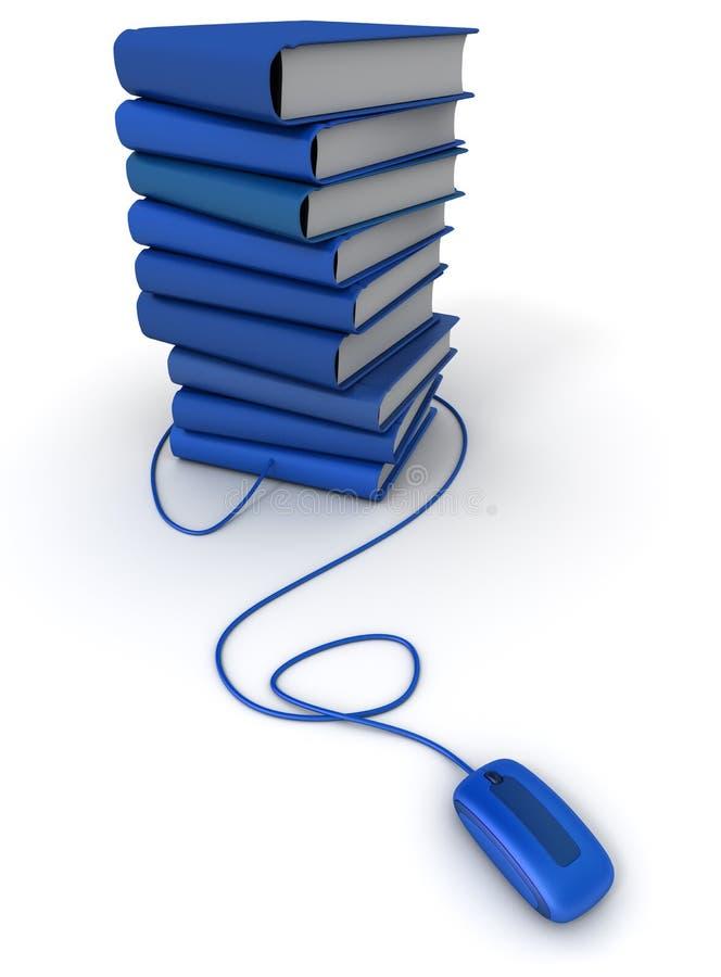 E-libros azules libre illustration