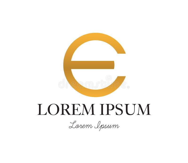 Download E Logo Concept Design Stock Vector - Image: 83705041