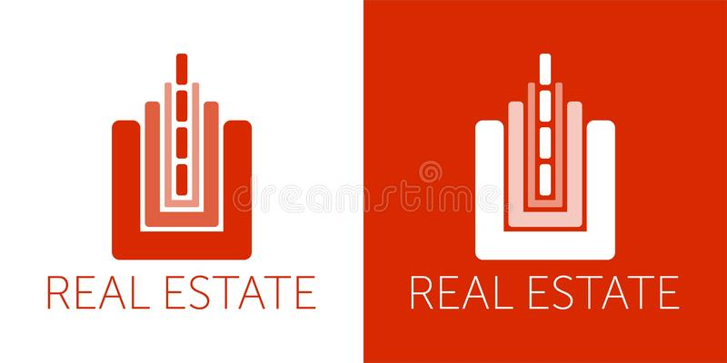 E Logotipo colorido Icono del dise?o ilustración del vector