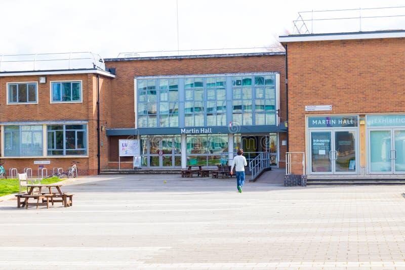 E 03 19: Loughborough uniwersyteta sporta budynków kampus Zjednoczone Królestwo obraz royalty free