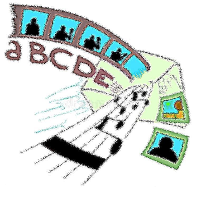 Download Stylized E-mail Illustration Concept Stock Illustration - Image: 12805495