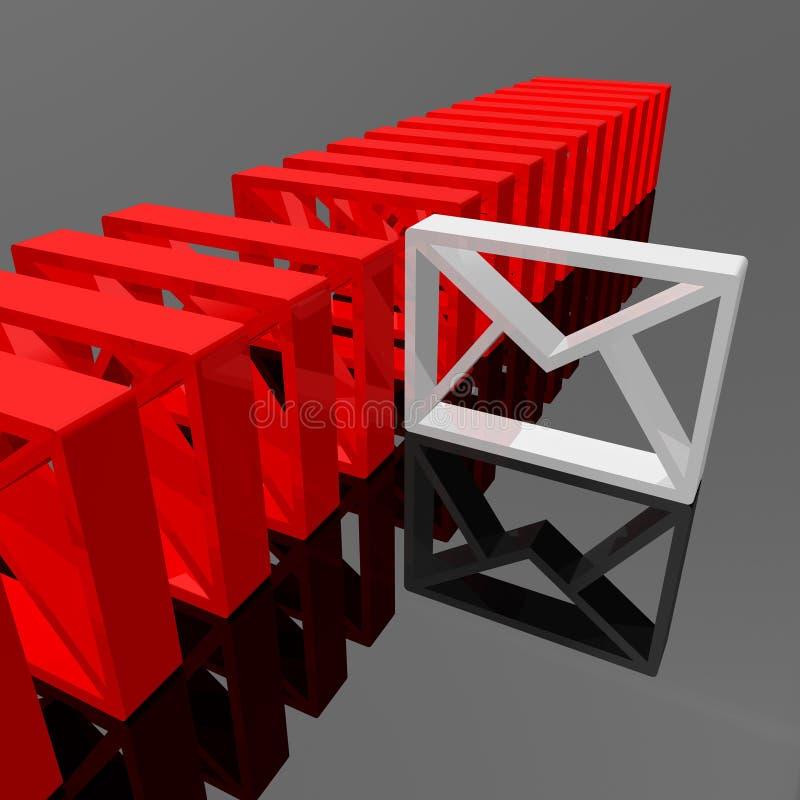 E-mail vector illustration