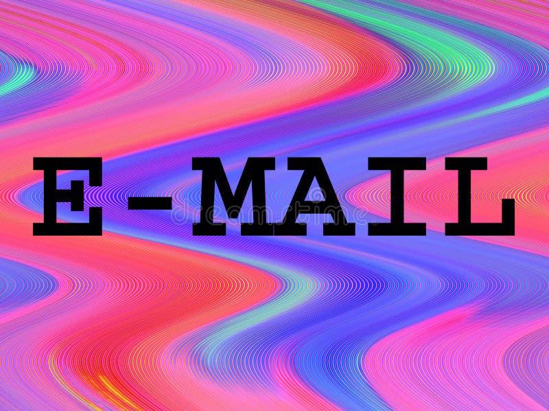 E-mail 2 vector illustratie