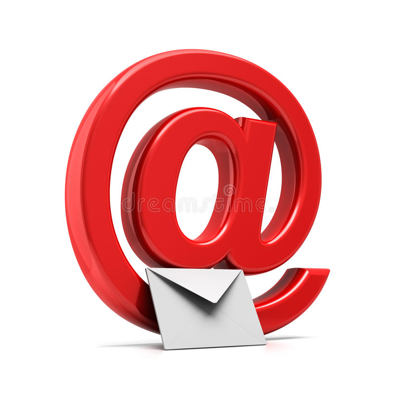 E-mail royalty free illustration
