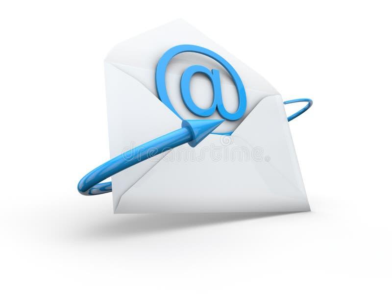 e - mail royalty ilustracja