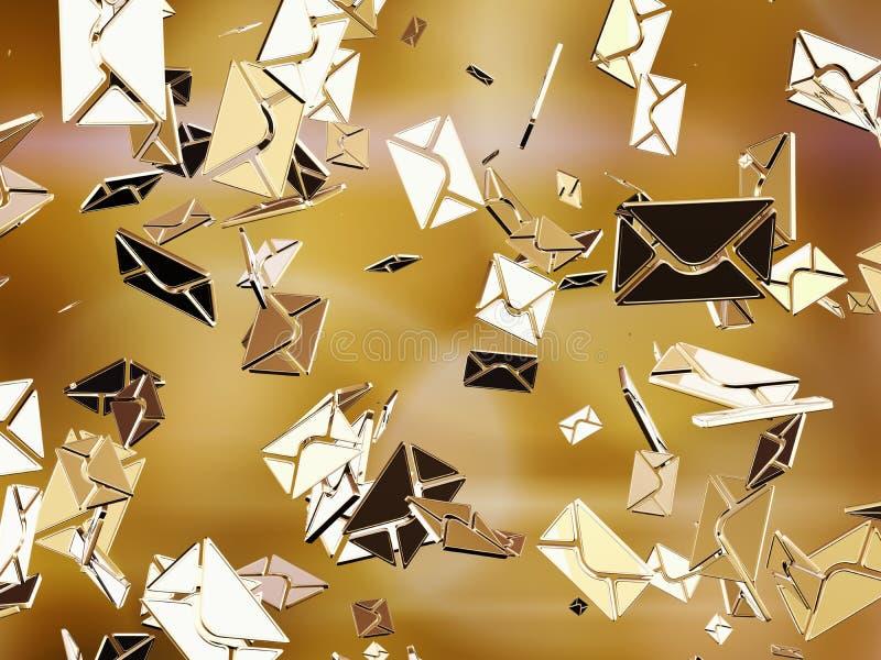 E-Mail lizenzfreie abbildung