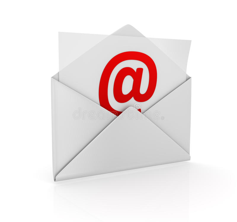 E-Mail Concept Royalty Free Stock Photography