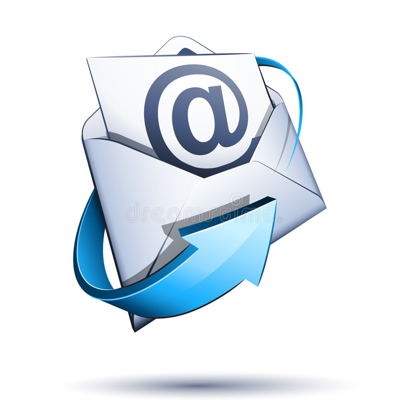 E-mail concept vector illustratie