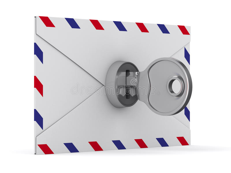 Download E-mail Concept On White Background Stock Illustration - Image: 30260895