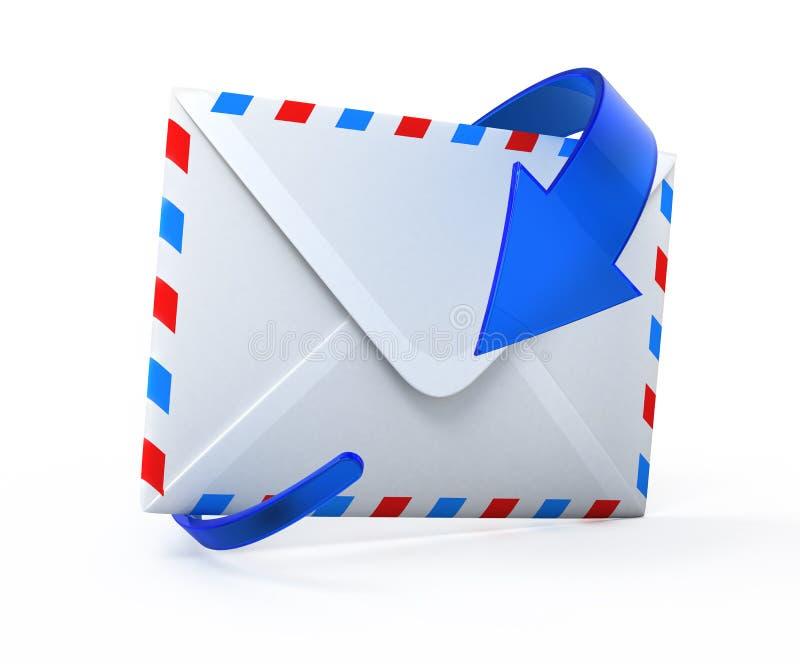 E-mail conceptenpictogram vector illustratie