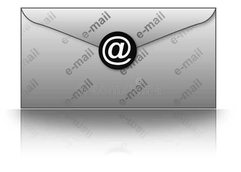 E-mail envelope royalty free illustration