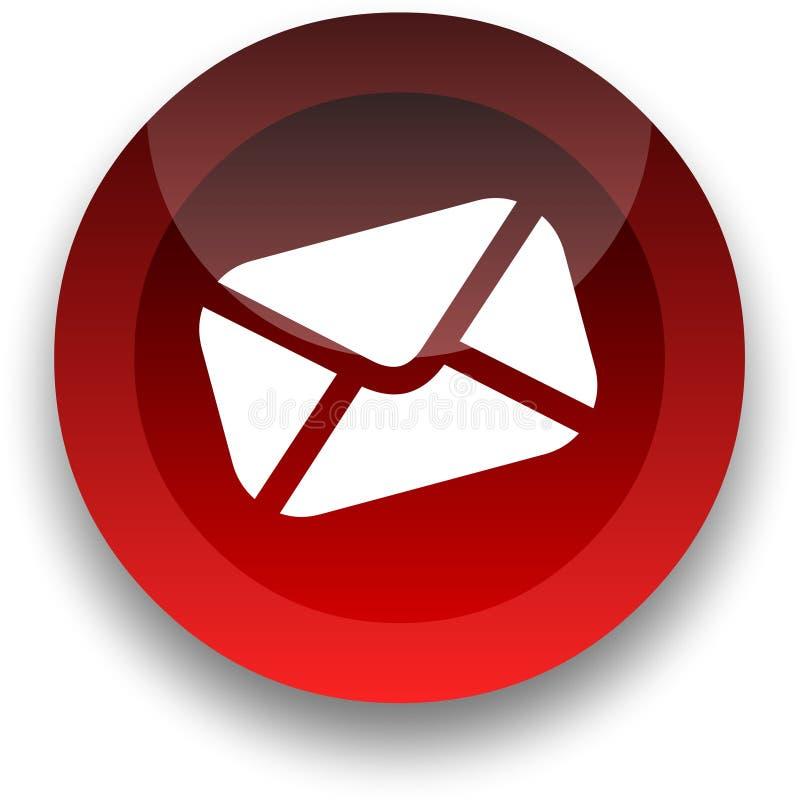 e - mail guzik ilustracji