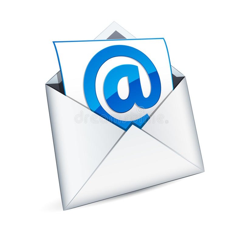 Free E-mail Icon Royalty Free Stock Image - 18580666