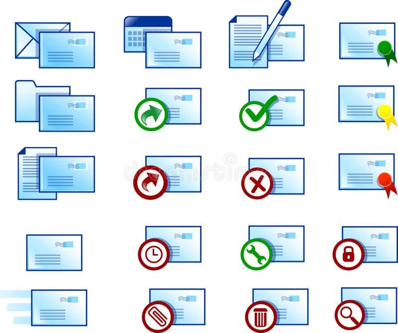 e - mail ikony