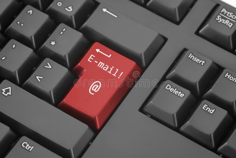 E-mail Knoop stock afbeeldingen