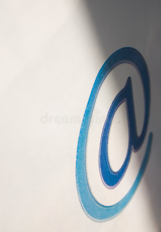 E - Mail Komunikacji Zdjęcia Stock