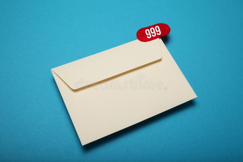 E-mail korespondencja dostarcza Kontaktowa gadka zdjęcie stock