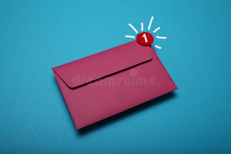 E-mail korespondencja dostarcza Kontaktowa gadka zdjęcia royalty free