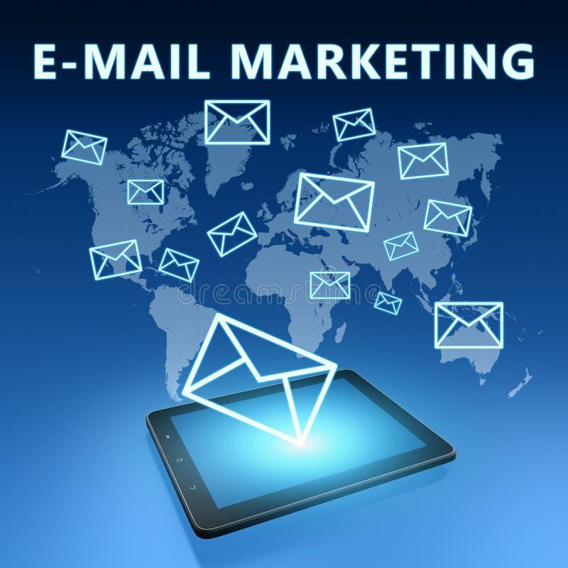 E-mail marketing royalty-vrije stock fotografie