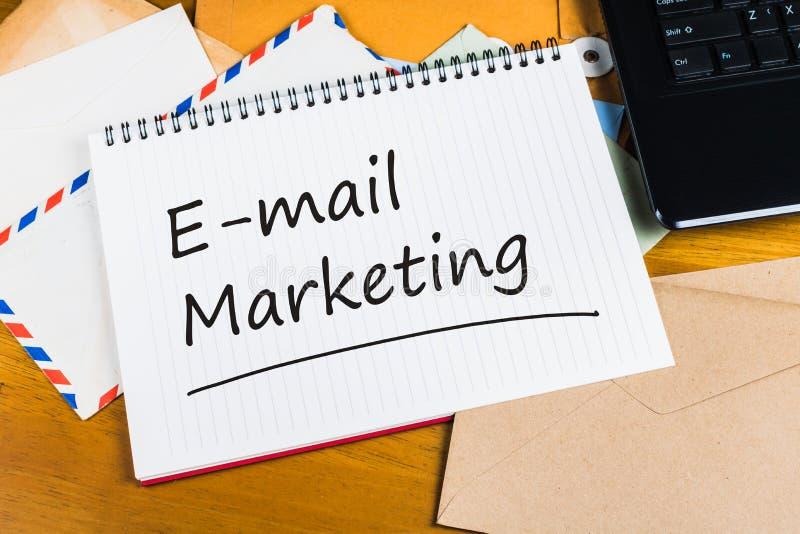 E-mail marketing stock foto's