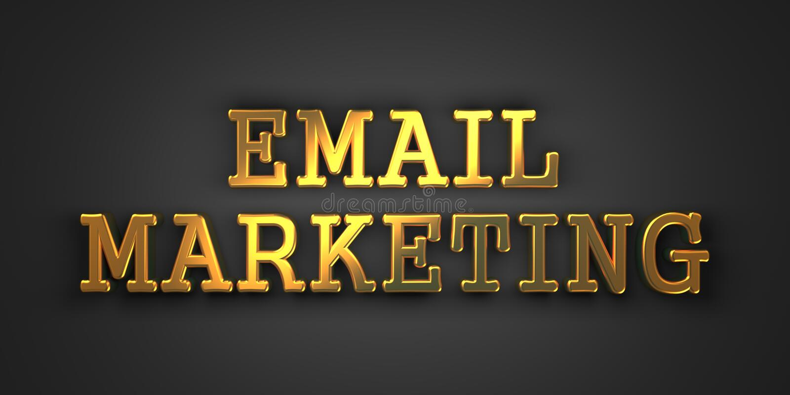 E-mail Marketing. Bedrijfsconcept. stock foto