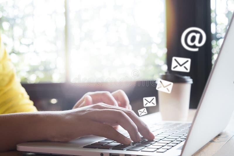 E-mail marketing concept royalty-vrije stock foto's