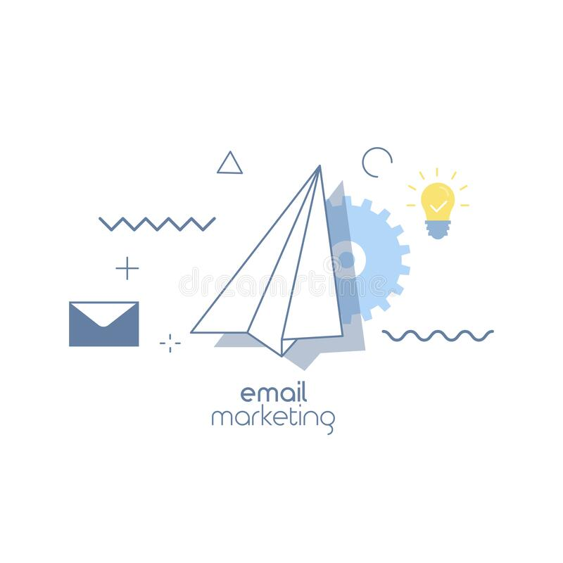 Free E-mail Marketing Concepts Stock Photography - 209291972