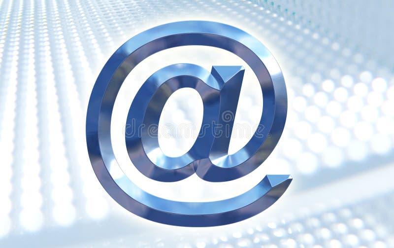 E-mail Samenvatting stock illustratie