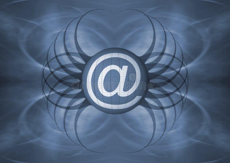 e - mail, symbol royalty ilustracja