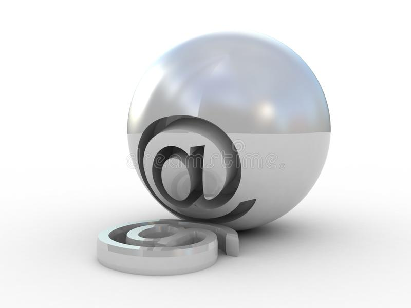 Download E-mail Symbol 3D stock illustration. Image of email, message - 33194886
