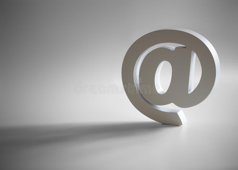 E-mail @ symbol royalty free stock photo